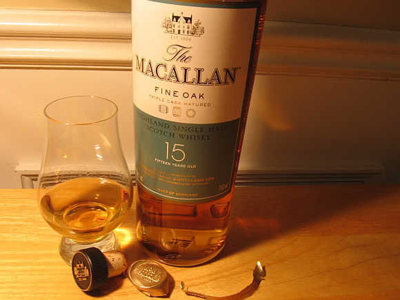 Macallan Fine & Rare Scotch Whisky.