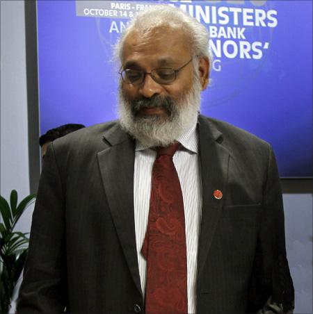 Former RBI deputy Governor Subir Gokarn.