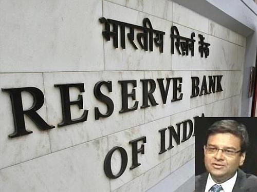 RBI's new Deputy Governot Urjit Patel in the inset.