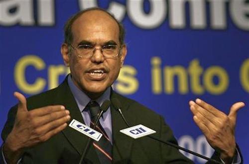 RBI Governor Duvvuri Subbarao.