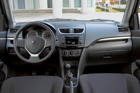 Suzuki Swift Xtra interior.