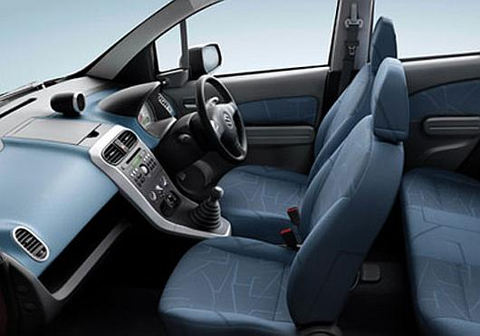 Interior of Maruti Ritz diesel.