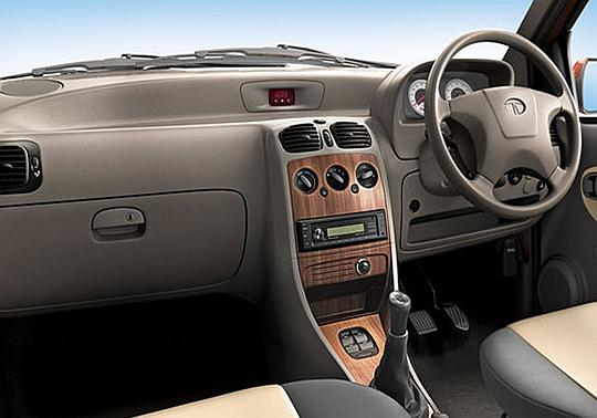 Interior of Tata Indica eV2.