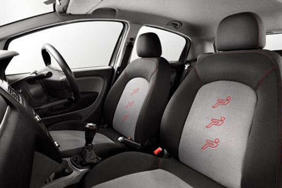 Interior of Fiat Grande Punto