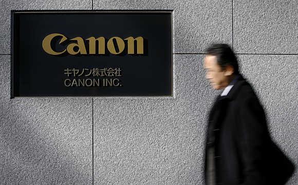 Canon's headquarters in Tokyo.