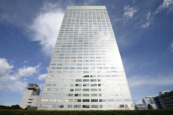 Toshiba's headquarters in Tokyo.