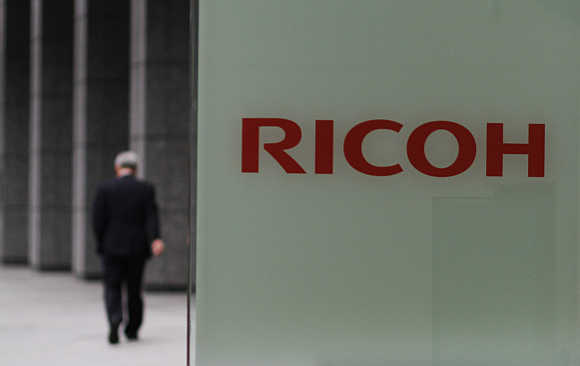 Ricoh headquarters in Tokyo.
