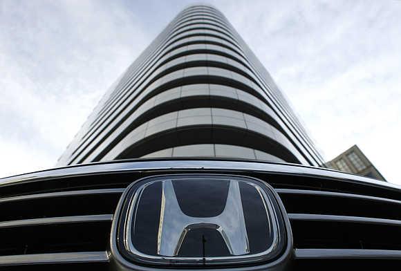 Honda's headquarters in Tokyo.