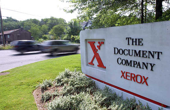 Xerox headquarters in Stamford, Connecticut, United States.