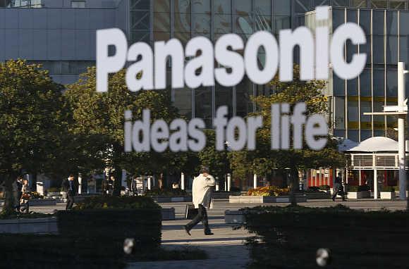Panasonic's showroom in Tokyo.