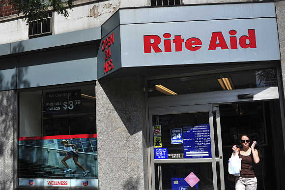 A Rite Aid store in New York.