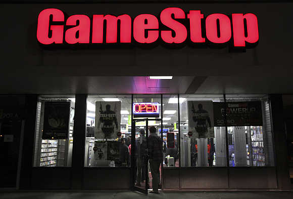 A GameStop store in Carle Place, New York.