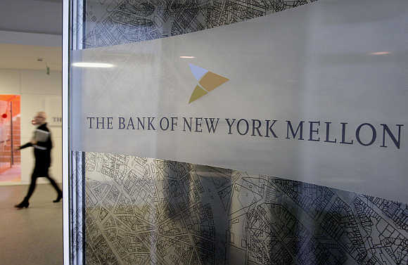 Bank of New York Mellon in Brussels, Belgium.