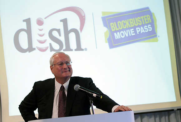 Dish Network CEO Joe Clayton in San Francisco, California.