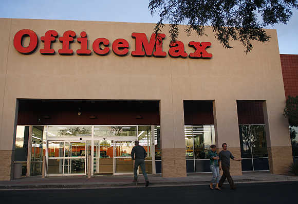 OfficeMax store in Glendale, Arizona.