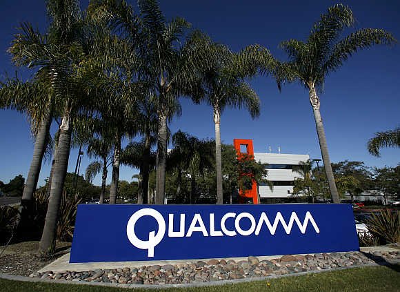Qualcomm's San Diego Campus in California.