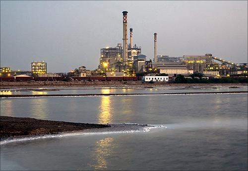 Tata Chemicals plant.