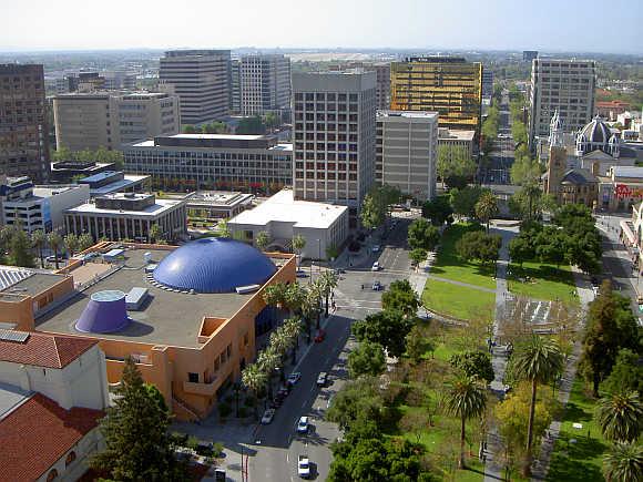 A view of San Jose, California.
