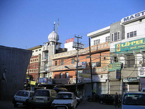 A view of Ludhiana, Punjab.