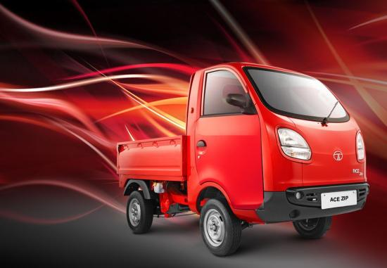 Photo of Tata Ace Zip mini-truck. In light commercial vehicles, Indians have increased market share.