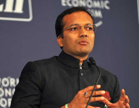 Jindal Steel & Power's chairman and managing director Naveen Jindal.