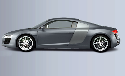 R8 Coupe.