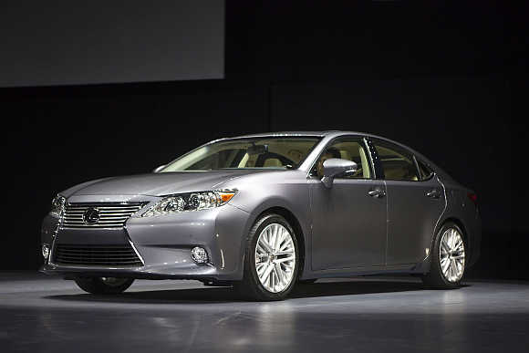 Lexus ES350 in New York.
