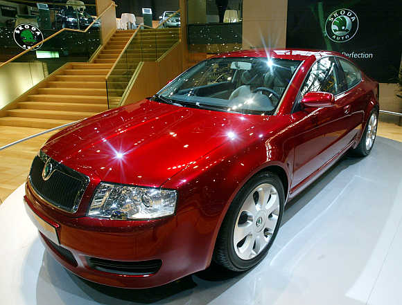 Skoda Tudor in Geneva.
