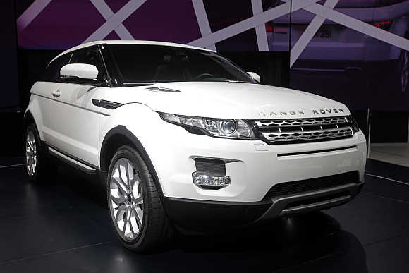 Range Rover Evoque in Paris.