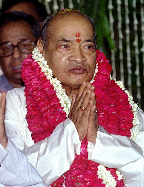 Former prime minister P V Narasimha Rao, the architect of liberalisation.