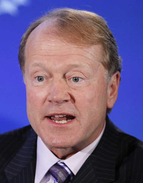 John Chambers in New York.