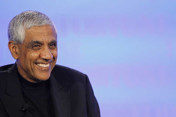 Vinod Khosla in Dana Point, California.