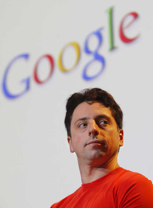 Sergey Brin in Mountain View, California.