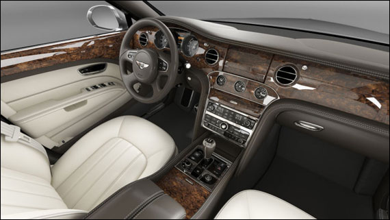 The stunning Bentley Mulsanne gets an added dose of luxury