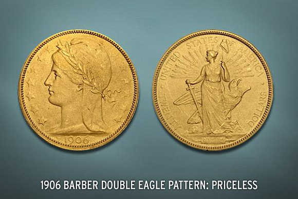 1906 Barber Double Eagle was made during the Colonial Era.