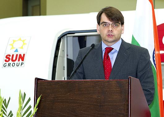 Spicejet CEO Neil Mills.