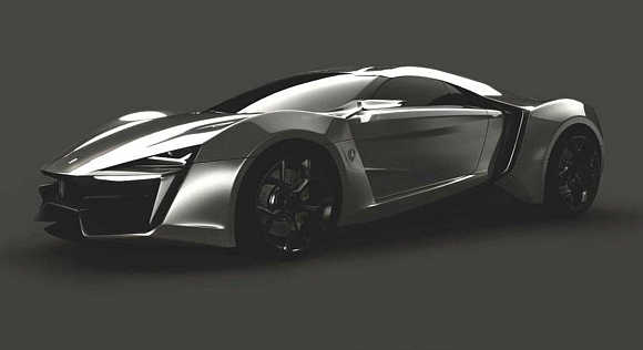 LykanHypersport 2013 will be introduced at Qatar Motor Show.