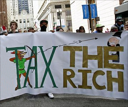 Should government tax the rich more?