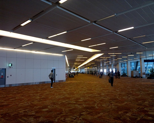 Indira Gandhi International Airport.