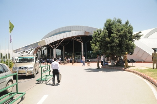 Srinagar International Airport.