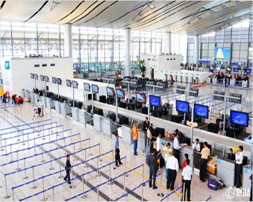Rajiv Gandhi International Airport.