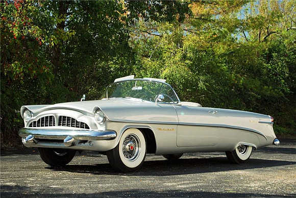 Packard Panther was sold for $825,000.