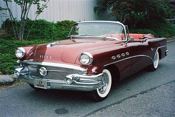 1956 Buick Super 56-C Convertible went for $220,000.