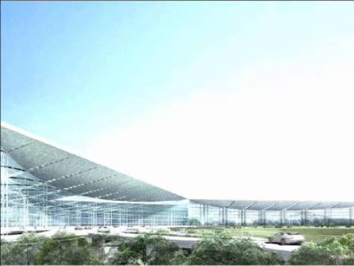 Netaji Subhash Chandra Bose International Airport's new terminal.