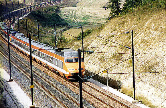TGV Sud-Est.