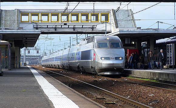 TGV Atlantique.