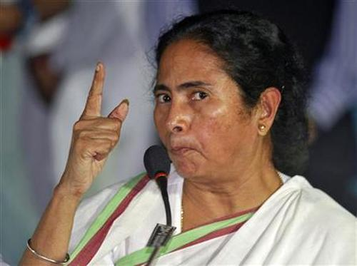 Mamata Banerjee, chief minister of West Bengal.