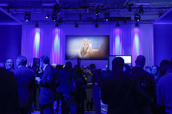 Launch of the BlackBerry 10 devices in New York.