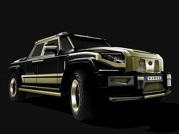 SUV that has ostrich leather, diamonds and costs $1m