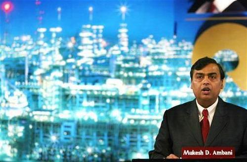 Reliance Industries Ltd chairman Mukesh Ambani.